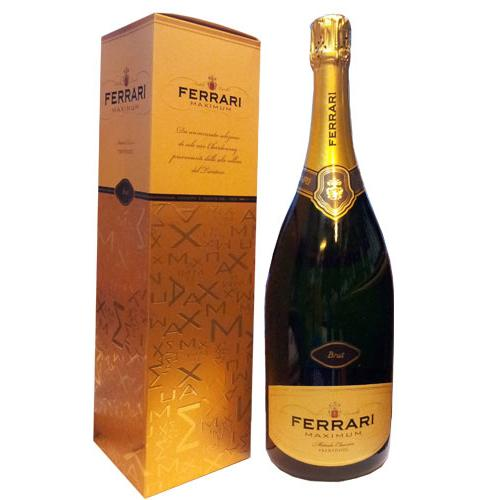 Pronounced Assemble of Ferrari Maximum Brut Astucciato Sparkling Wine<br>