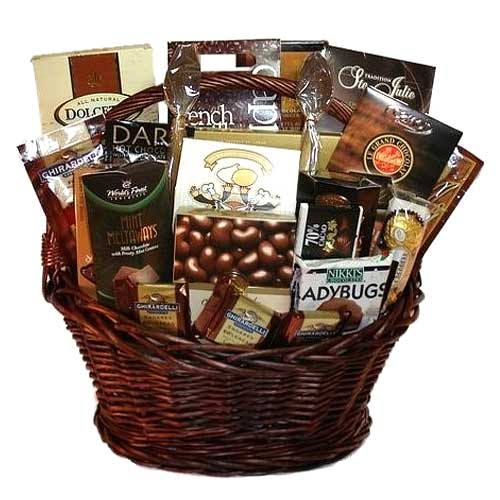 Exclusive Arrangements Gift Basket