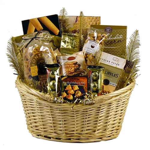 Exciting Gourmet Extravagance Gift Basket