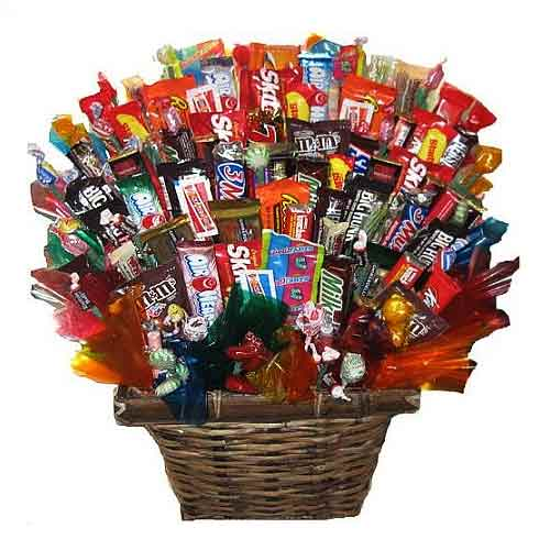 Plentiful Gift Basket Arrangement