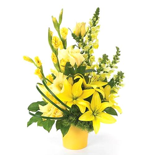 Sun-Kissed Yellow Seduction Bouquet