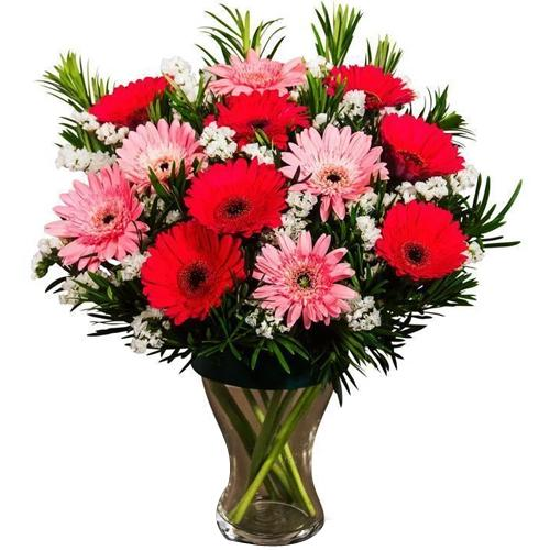 Gorgeous Red N White Floral Bouquet