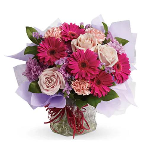 Shimmering Beauty Mixed Flower Bouquet