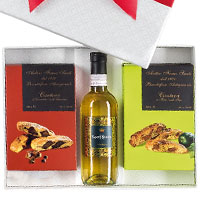 Festive Joy Wine N Goodies Gift Hamper<br>