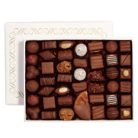 Irresistible Best Quality Gluttonous Caprices Chocolate Box N Red Rose