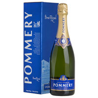 Classic Arrangement of Brut Royal Pommery Champagne in Box (75 cl.)