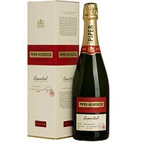 Textured Essentiel Cuvee Brut Piper Heidsieck Champagne (75 cl.) for Special Celebration