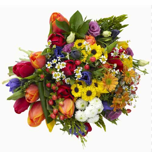Sensational Royal Assorted Floral Bunch