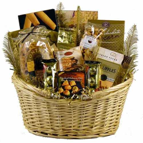 Special Festive Assortment Gift Basket
