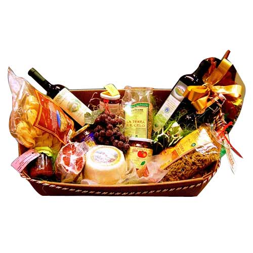 Welcoming Seasonal Greetings Gift Basket