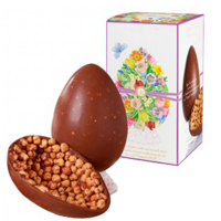 Tasty Happiness All Around Easter Milk Chocolate Egg