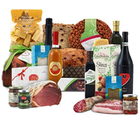 Smart Connoisseurs Choice Gourmet Gift Basket<br>