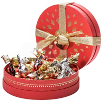 Treasured Smile Sensation Venchi Chocolates Hat Box