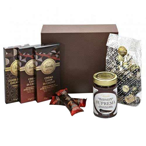 Ambrosial Harmonious Warmth Cocoa Hearts Chocolate Box