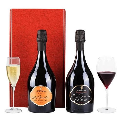 Heavenly Festive Cheers Wine Gift Set