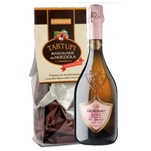 Truffles with Sparkling Wine