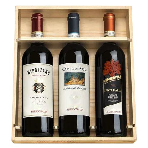 Wooden Box 4 Wines