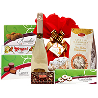 Abundant Treat Festive Gift Basket<br><br>