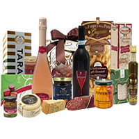 Glamorous Cheers to Good Health Gift Basket