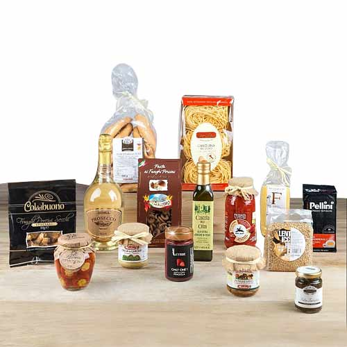 Sumptuous Christmas Gift Hamper of Food Delicacy