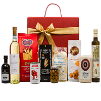 Let�s Celebrate Christmas Gift Basket