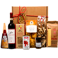 Angelic X-mas Gift Box with Wine N Dine Essentials