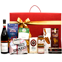 Deluxe Christmas Gift Box of Wine