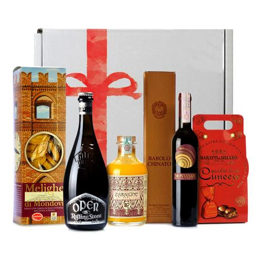 Marvelous Christmas Gift Box of Wine N Beer
