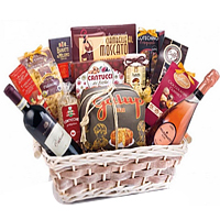 Lively Wine That Sparkles Gift Basket
