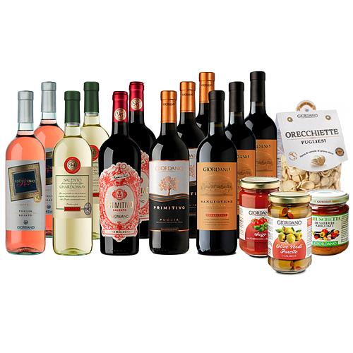 Festive Gift Hamper with Wine Selection