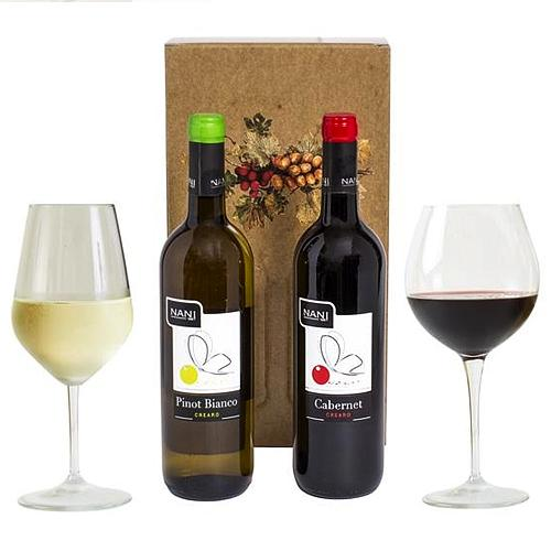 The best of All Wine Duo Gift Box