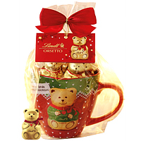 Heartiest Greetings with Mini Orsetti Cup N Chocolates