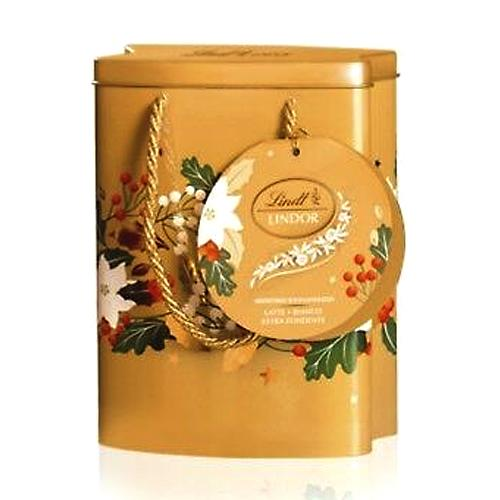 Assorted Lindor Chocolate Tin for X-Mas