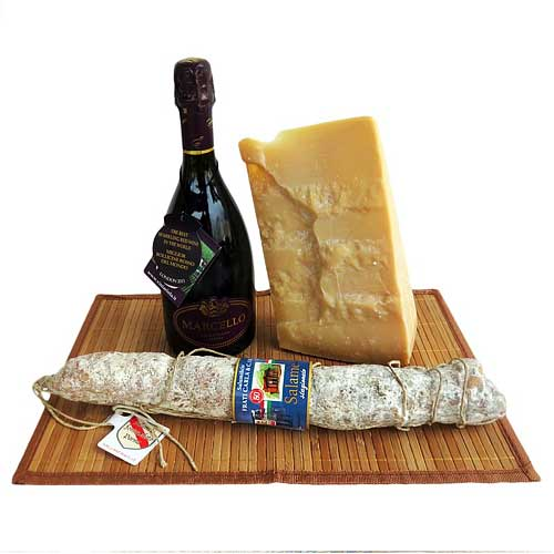 Captivating Wine N Cheese Treat