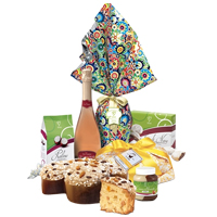 Easter Treats with Wine Hamper