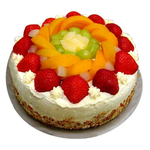 Mouth-Watering Fruit Cake