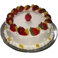 Silky Fruit Cake
