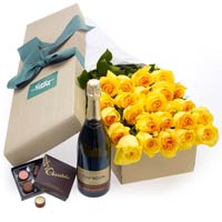 Dramatic Garden of Floral Pleasure with Champagne